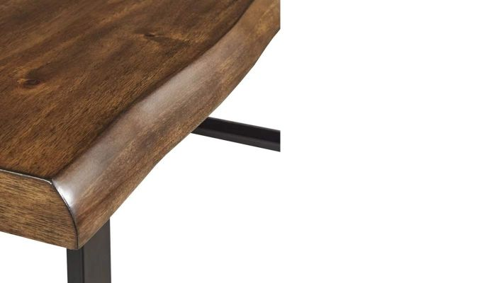 Balor Restaurant Table (Teak Finish)-7