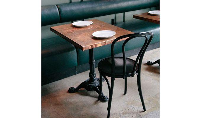 Bethany Restaurant Table (Honey Finish)-1