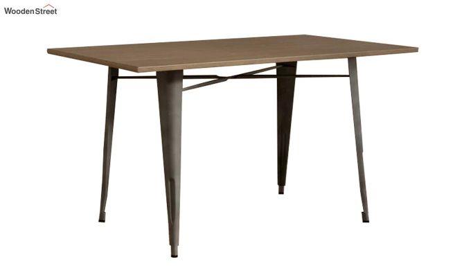 Calamo Restaurant Table (Teak Finish)-2
