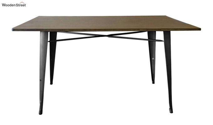 Calamo Restaurant Table (Teak Finish)-3