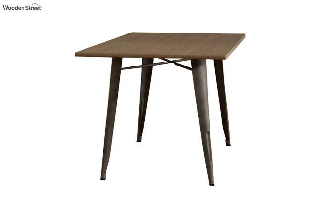 Calamo Restaurant Table (Teak Finish)-4