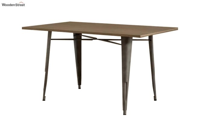Calamo Restaurant Table (Teak Finish)-5