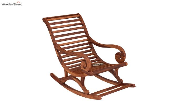 Albin Rocking Chair (Honey Finish)-2