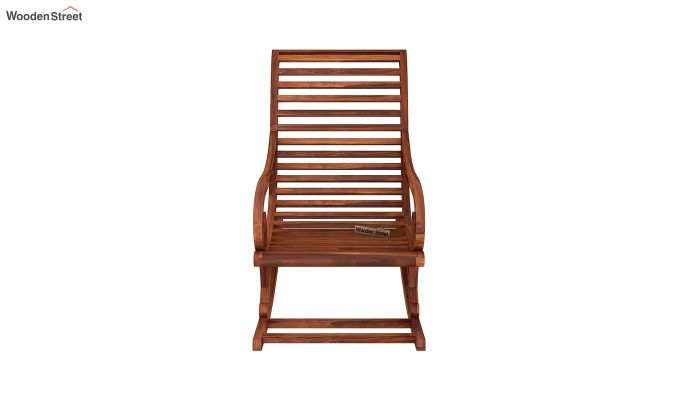 Albin Rocking Chair (Honey Finish)-3