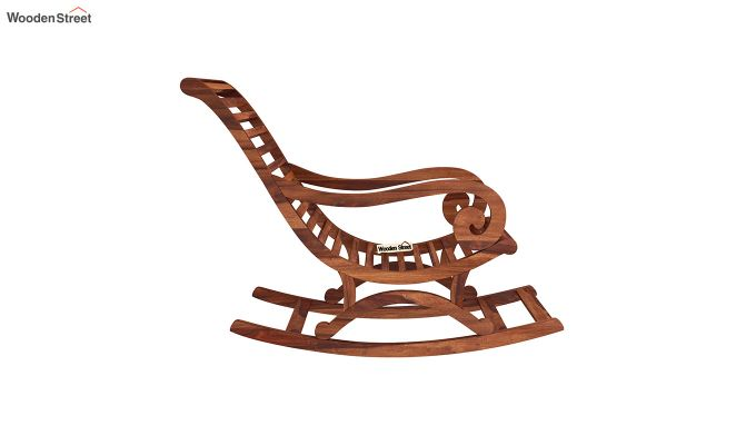 Albin Rocking Chair (Honey Finish)-4
