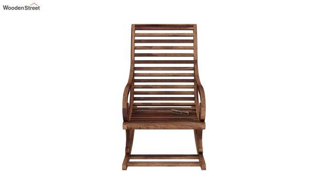 Albin Rocking Chair (Teak Finish)-3