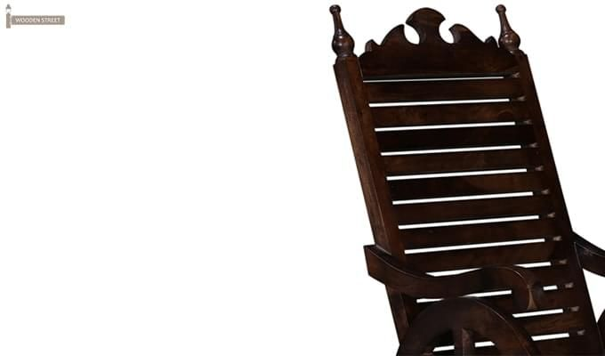 Silvio Rocking Chair (Walnut Finish)-6