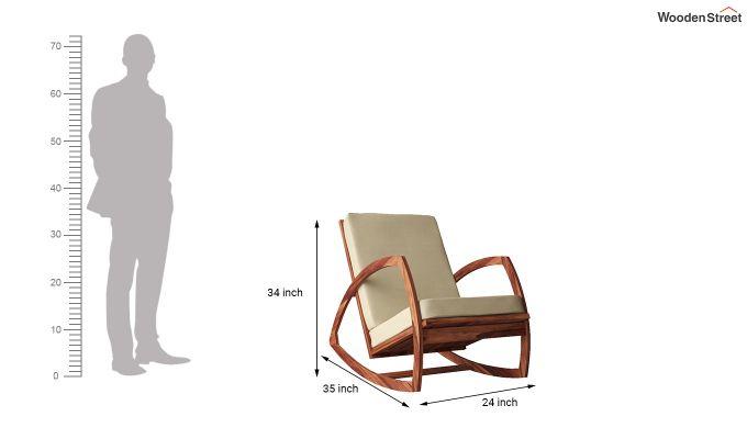 Ferano Easy Chair (Honey Finish)-6
