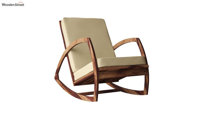 Ferano Easy Chair (Teak Finish)-2