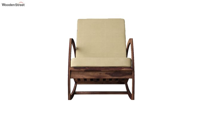 Ferano Easy Chair (Teak Finish)-3