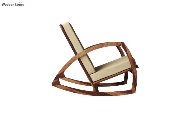 Ferano Easy Chair (Teak Finish)-4