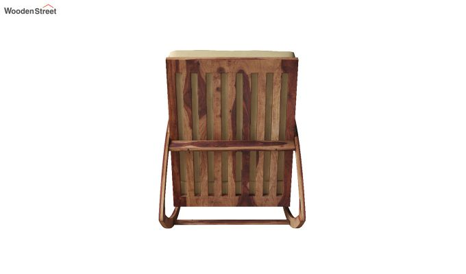 Ferano Easy Chair (Teak Finish)-5