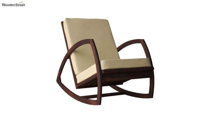 Ferano Easy Chair (Walnut Finish)-2