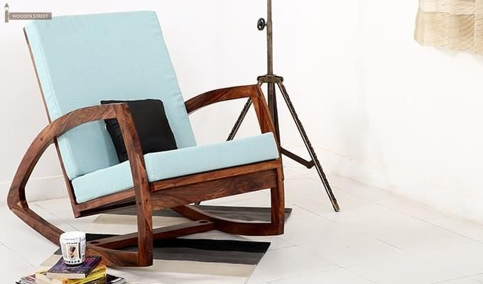 Ferano Easy Chair (Teak Finish)-1