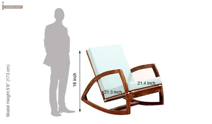 Ferano Easy Chair (Teak Finish)-6