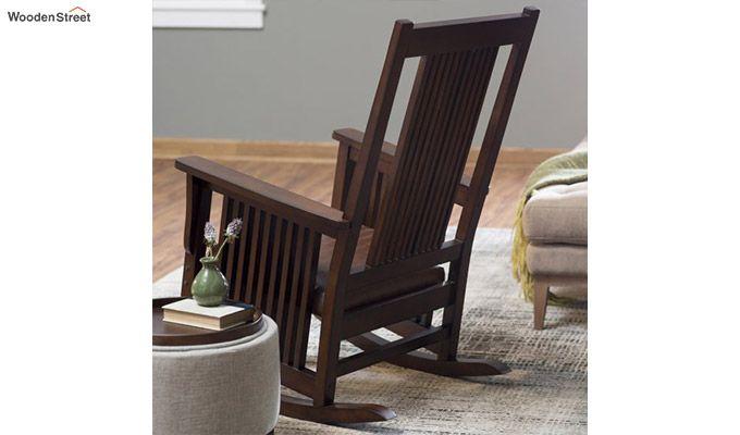 Logan Rocking Chair (Walnut Finish)-1