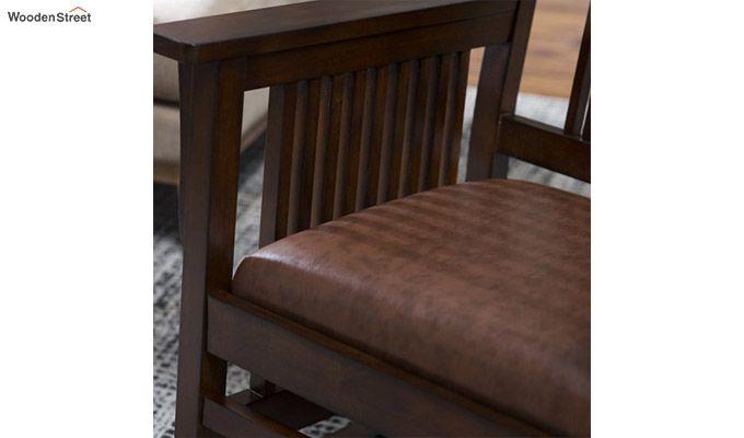 Logan Rocking Chair (Walnut Finish)-2