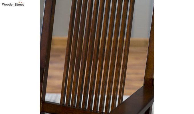 Logan Rocking Chair (Walnut Finish)-3