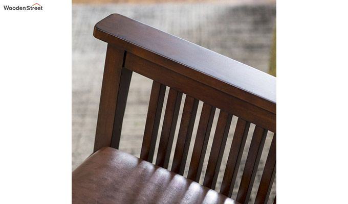 Logan Rocking Chair (Walnut Finish)-4