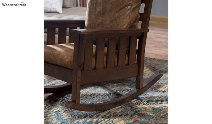 Luke Rocking Chair (Walnut Finish)-5