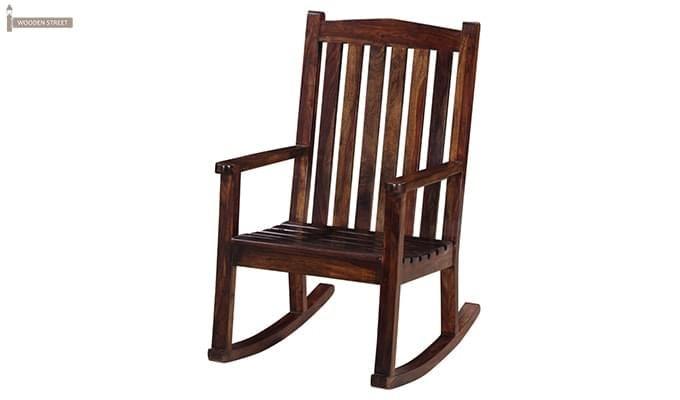 Nobel Rocking Chair (Mahogany Finish)-3