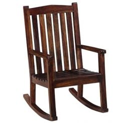 Nobel Rocking Chair (Mahogany Finish)