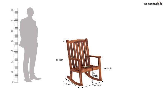 Nobel Rocking Chair (Honey Finish)-5