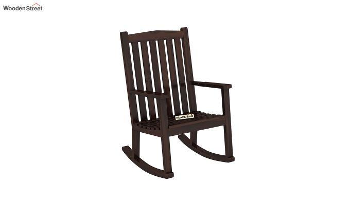 Nobel Rocking Chair (Walnut Finish)-2