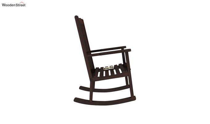 Nobel Rocking Chair (Walnut Finish)-4