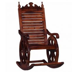 Silvio Rocking Chair (Honey Finish)