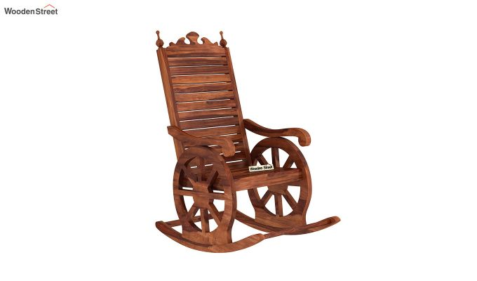 Silvio Rocking Chair (Honey Finish)-2