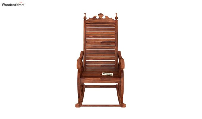 Silvio Rocking Chair (Honey Finish)-3