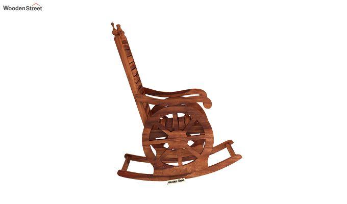Buy Silvio Rocking Chair Honey Finish Online In India