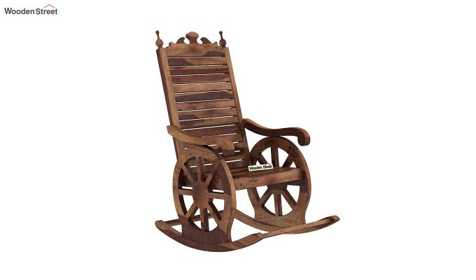 Silvio Rocking Chair (Teak Finish)-2