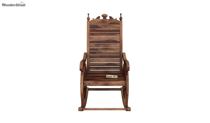 Silvio Rocking Chair (Teak Finish)-3