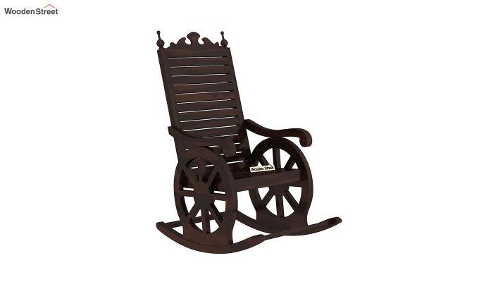 Silvio Rocking Chair (Walnut Finish)-2
