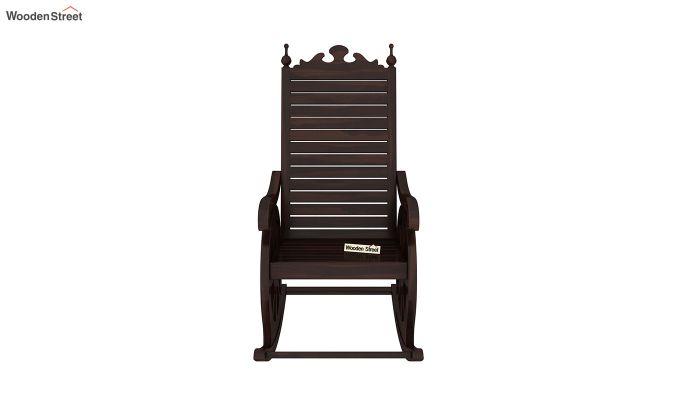 Silvio Rocking Chair (Walnut Finish)-3