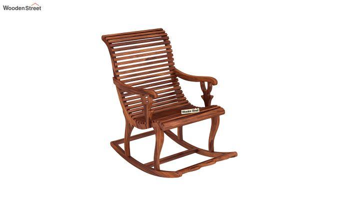 Vivian Rocking Chair (Honey Finish)-2
