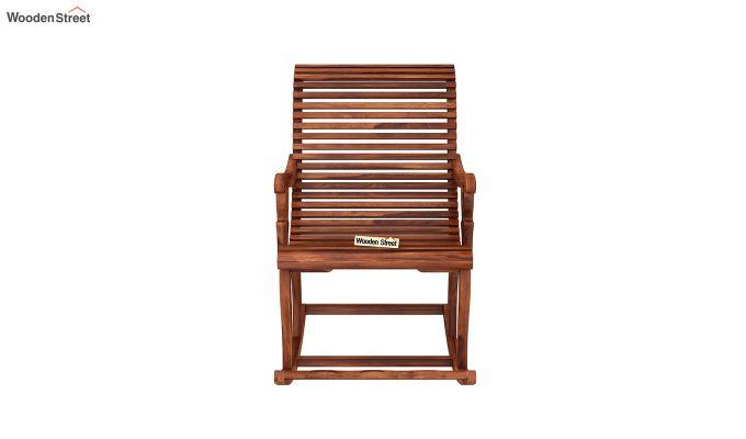 Vivian Rocking Chair (Honey Finish)-3