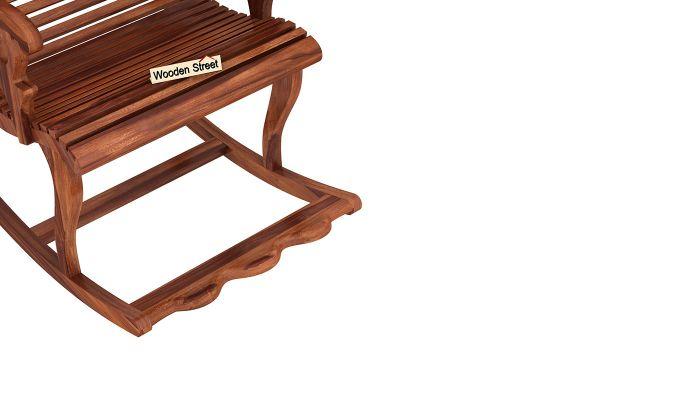 Vivian Rocking Chair (Honey Finish)-5