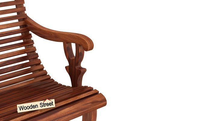 Vivian Rocking Chair (Honey Finish)-6