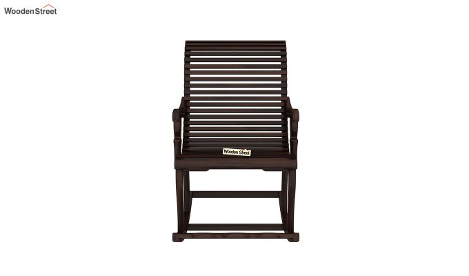 Vivian Rocking Chair (Walnut Finish)-3