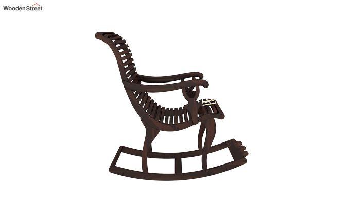 Vivian Rocking Chair (Walnut Finish)-4