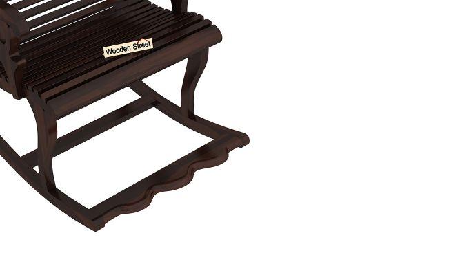 Vivian Rocking Chair (Walnut Finish)-5
