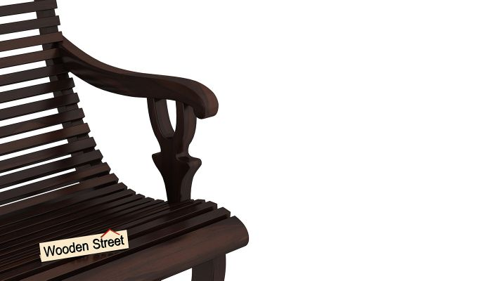 Vivian Rocking Chair (Walnut Finish)-6