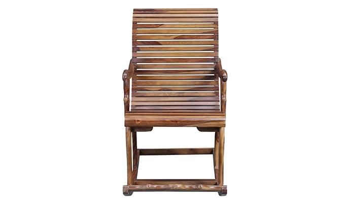 Vivian Rocking Chair (Teak Finish)-2