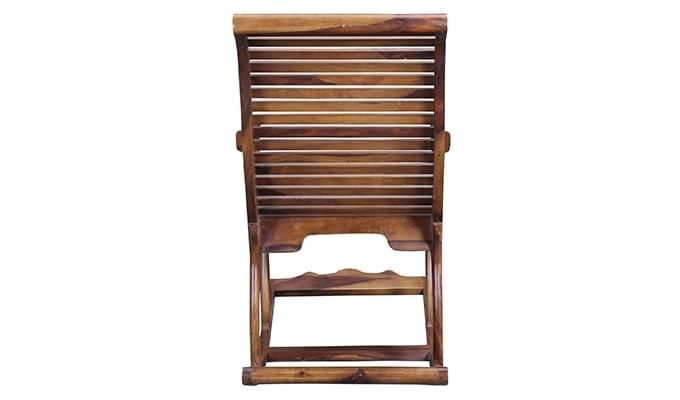 Vivian Rocking Chair (Teak Finish)-6