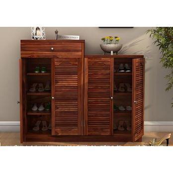 Wooden Shoe racks online, Shoe Cabinet with doors
