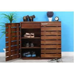 Rowan Multi Utility Cabinet (Teak Finish)
