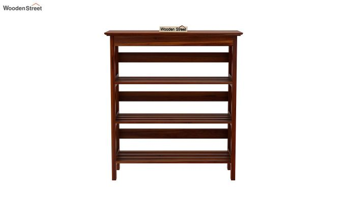 Ashton Shoe Rack (Honey Finish)-4